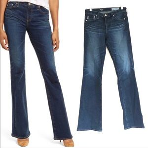 Anthro AG Angel Bootcut Mid Rise Jeans
